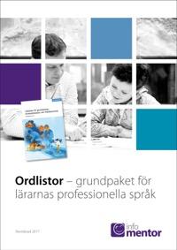 10-pack Ordlistor - grundpaket för lärarnas professionella språk Ny version! Reviderad 2017