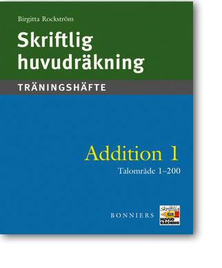 Skriftlig huvudräkning Addition 1 5-pack