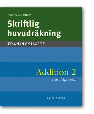 Skriftlig huvudräkning Addition 2 5-pack