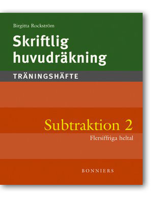 Skriftlig huvudräkning Subtraktion 2 Träningshäften 5-pack