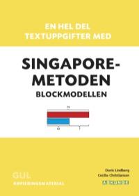 En hel del textuppgifter med Singaporemetoden, Gul