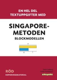 En hel del textuppgifter med Singaporemetoden, Röd
