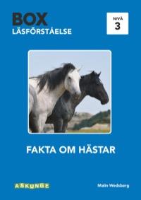 Box 5 Fakta om hästar nivå 3