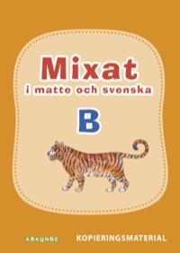 Mixat i matte och svenska B