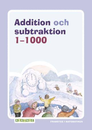 Framsteg / Addition och subtraktion 1-1000