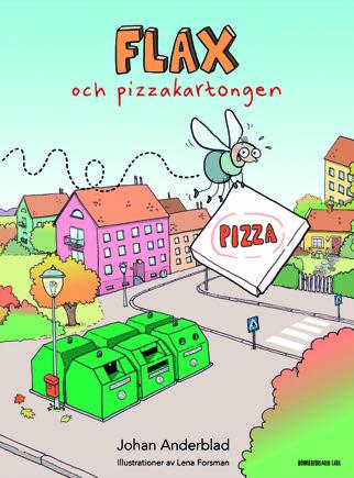 Flax och pizzakartongen
