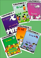 Pluralövningar paket bok 1-6