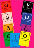Bokstavsböckerna vokalhäften