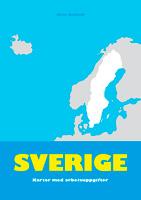 Sverige - kartor med arbetsuppgifter