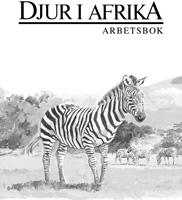 Djur i Afrika arbetsbok
