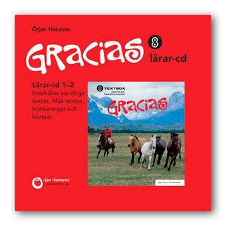 Gracias 8 Lärar CD