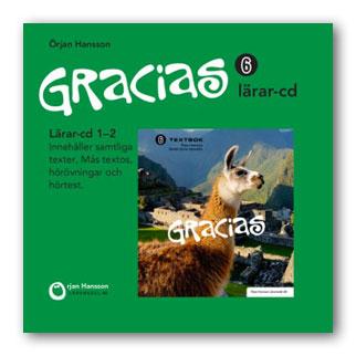 Gracias 6 Lärar-cd