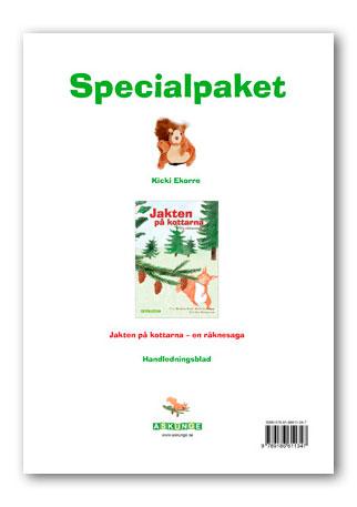 Jakten på kottarna Specialpaket (handdocka, räknesaga, handledningsblad)