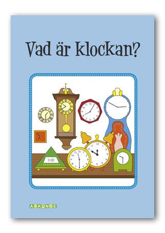 Vad är klockan? A4-format