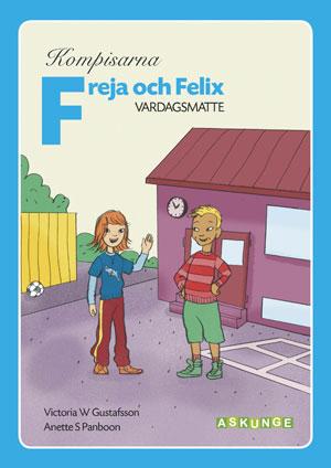 Kompisarna Vardagsmatte / Freja och Felix