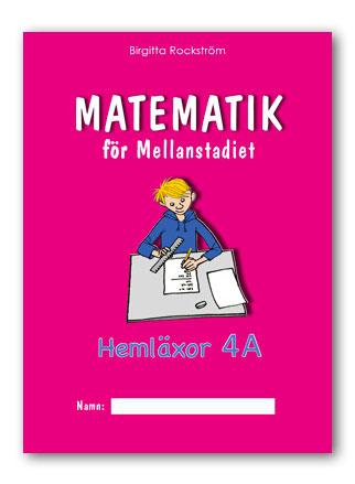 Matematik för Mellanstadiet 4A Hemläxor
