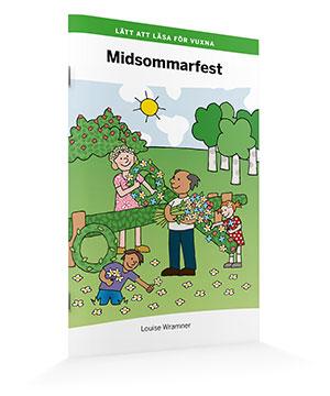 Lätt att läsa för vuxna (grön): Midsommarfest