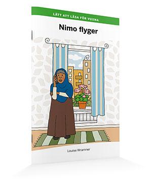 Lätt att läsa för vuxna (grön): Nimo flyger