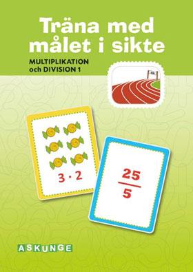 Multiplikation och division del 1, 5-pack (Träna med målet i sikte)