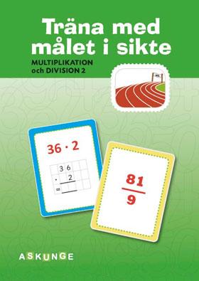 Multiplikation och division del 2, 5-pack (Träna med målet i sikte)