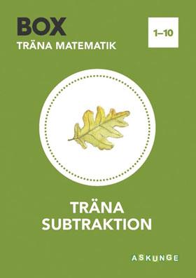 Box / Träna subtraktion 1-10