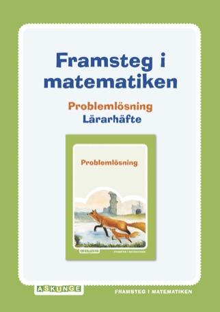 Framsteg / Lärarhäfte Problemlösning
