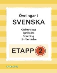 Etapp 2 - Blandade övningar i svenska