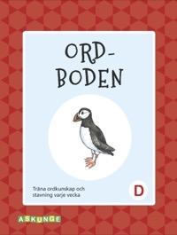 Ordboden D