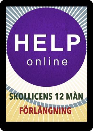 HELP online licens förlängning 12 mån