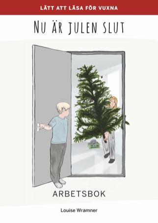 Lätt att läsa för vuxna (röd): Nu är julen slut, arbetsbok