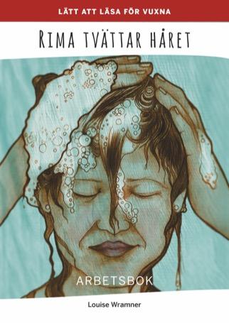 Lätt att läsa för vuxna (röd): Rima tvättar håret, arbetsbok