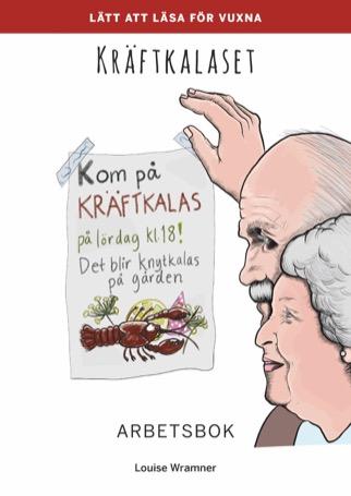 Lätt att läsa för vuxna (röd): Kräftkalaset, arbetsbok