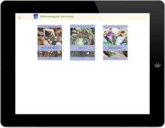 Källsortering och återvinning: Digital Elevlicens 12 mån