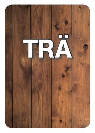 Industrier och verksamheter: Trä - Kortlek