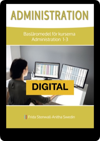 Administration, digital 12 mån elevlicens