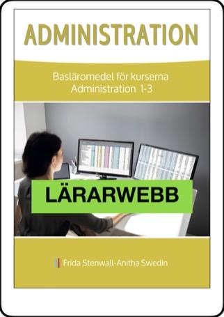 Administration, lärarwebb