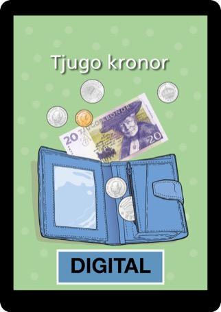 Tjugo kronor Digital 12 mån elevlicens