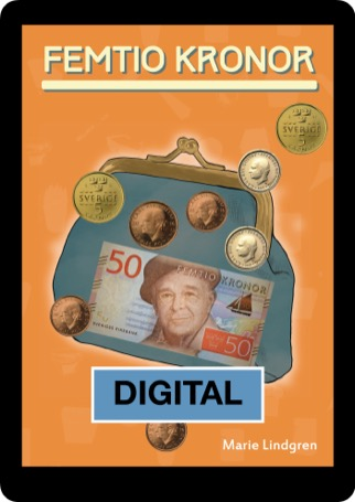 Femtio kronor Digital 12 mån elevlicens