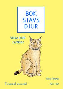 Bokstavsdjur - vilda djur i Sverige