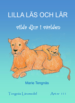 Lilla läs och lär vilda djur i världen kopieringsunderlag
