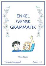 Enkel Svensk Grammatik 1 kopieringsunderlag