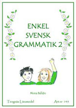 Enkel Svensk Grammatik 2 kopieringsunderlag