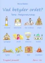 Vad betyder ordet? - Religionskunskap kopieringsunderlag