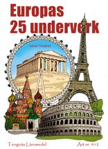 Europas 25 underverk kopieringsunderlag