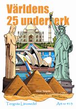 Världens 25 underverk kopieringsunderlag