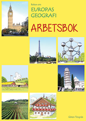 Boken om Europas Geografi - ARBETSBOK