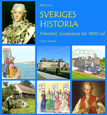 Boken om Sveriges historia - Frihetstid Gustav.tid 1800-tal - GRUNDBOK