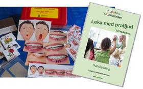 """FonoMix Munmetoden sats för förskolan """"Leka med pratljud"""""""