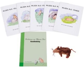 Musen Bus paket - småböcker, handledning, samt mjukismus