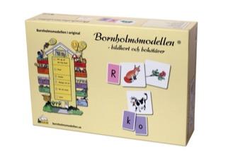 Bildkort och bokstäver till Språklekar efter Bornholmsmodellen uppl 2